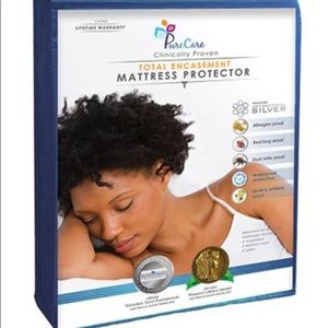 PureCare Total Encasement twin Mattress Protector